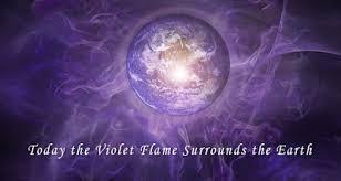 llama violeta meditacion