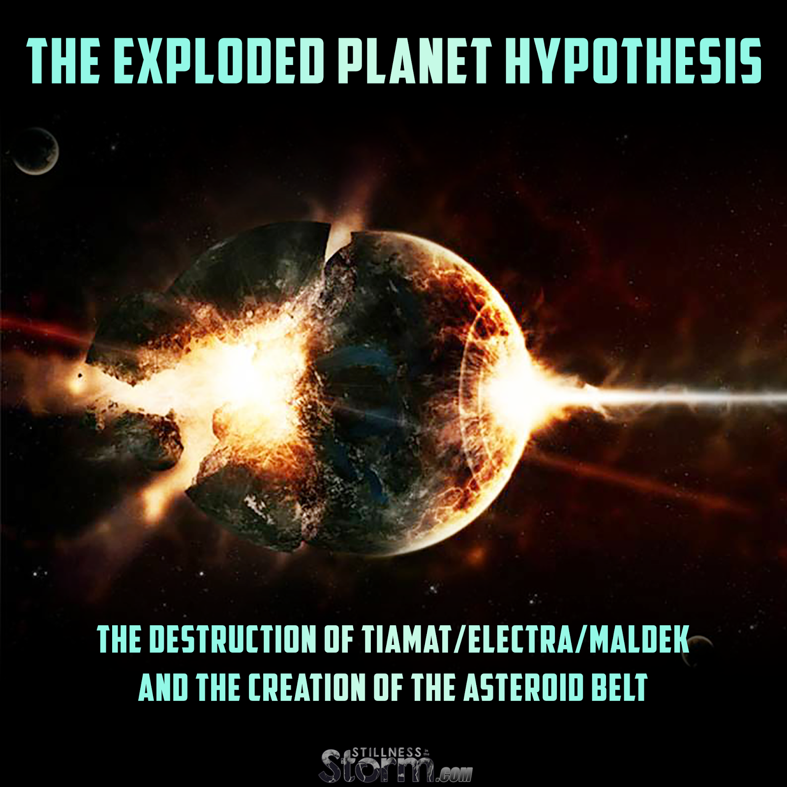 The Exploded Planet Hypothesis The Destruction of Tiamat Electra Maldek and the Creation of the Asteroid Belt
